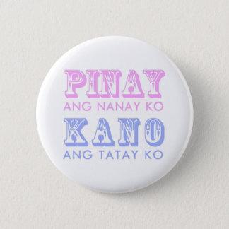Pinayカノボタン 5.7cm 丸型バッジ