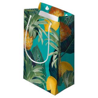 pineapleおよびレモンティール(緑がかった色) スモールペーパーバッグ