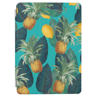 pineapleおよびレモンティール(緑がかった色) iPad air カバー