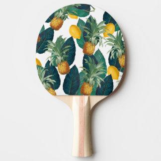 pineapleおよびレモン白 卓球ラケット