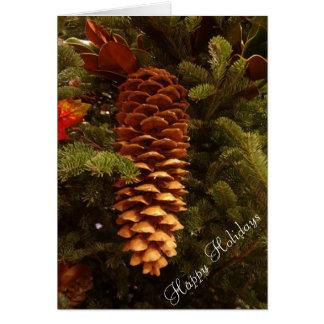 Pineconeの休日 カード