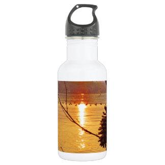 Pinecone湖の日没 ウォーターボトル