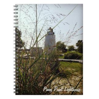 Pineyポイント灯台ノート ノートブック