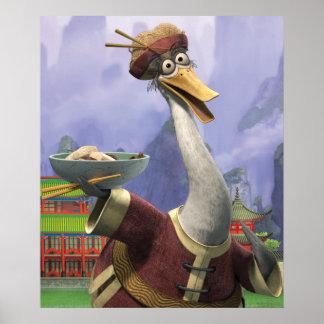 Pingヴィンテージの氏 ポスター
