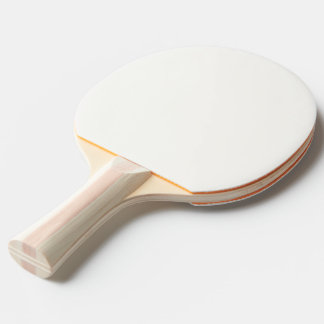 Ping Pong Paddle Red White or Black White Template 卓球ラケット