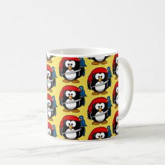 Pinguinおもしろいな海賊 コーヒーマグカップ