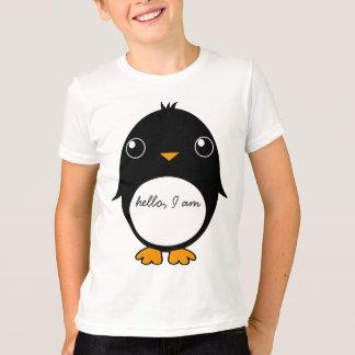 pinguinの子供のTシャツ: こんにちは、私はあります Tシャツ