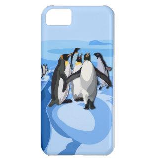 Pinguinの氷山 iPhone5Cケース
