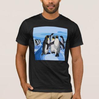 Pinguinの氷山 Tシャツ
