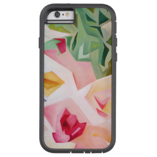 Pink Abstract Floral iPhone 6 Case Tough Xtreme iPhone 6 ケース