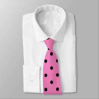 Pink and Black Polka Dots ネックウェアー