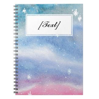 Pink&Blueのカスタムな銀河系 ノートブック