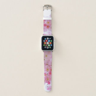 Pink Cherry Blossom Apple Watch Band Apple Watchバンド