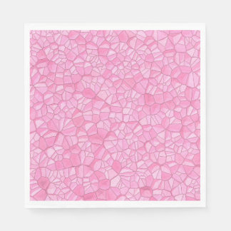 Pink crystal Paper Napkin スタンダードランチョンナプキン