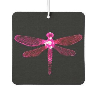 Pink Dragonfly Car Air Freshener カーエアーフレッシュナー