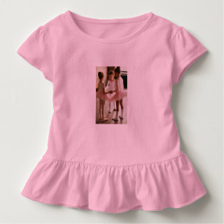 pink little ballerina トドラーTシャツ
