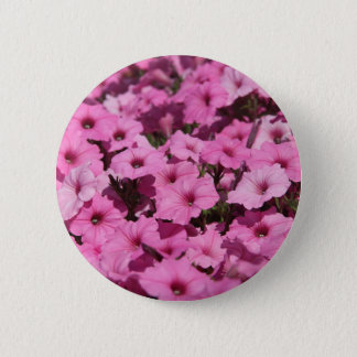 pink pansy 缶バッジ