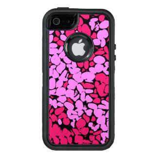 pink pattern オッターボックスディフェンダーiPhoneケース