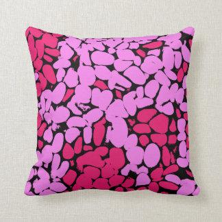 pink pattern クッション