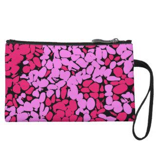 pink pattern クラッチ