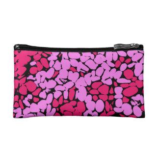 pink pattern コスメティックバッグ