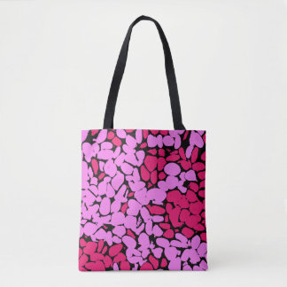pink pattern トートバッグ