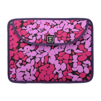 pink pattern MacBook proスリーブ