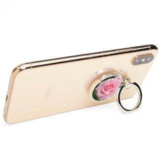 Pink Rose:Smartphone Ring Holder スマートフォンリング