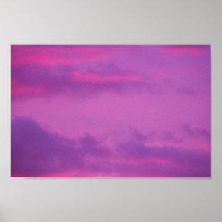 Pink Sunset Sky, Ohio. ポスター