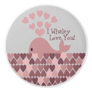 Pinke I Whaley愛! セラミックノブ