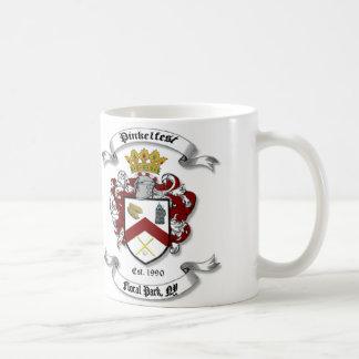 Pinkelの頂上のマグ コーヒーマグカップ