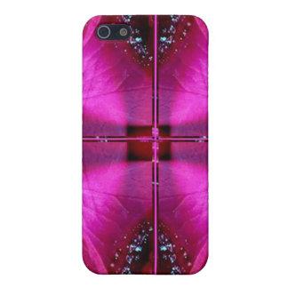 PinkRoseの花弁の避難所-照らされた輝き iPhone 5 Cover