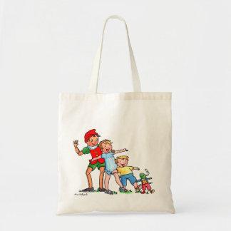 Pinocchioおよび友人のバッグ トートバッグ