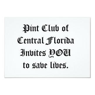 PintClubの招待状 カード