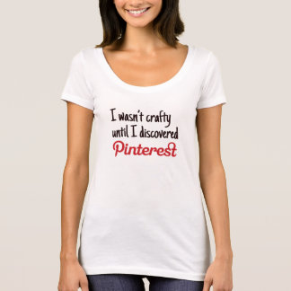 Pinterestと悪賢い Tシャツ