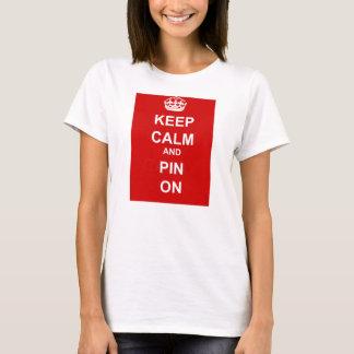 Pinterestの常習者のTシャツ Tシャツ
