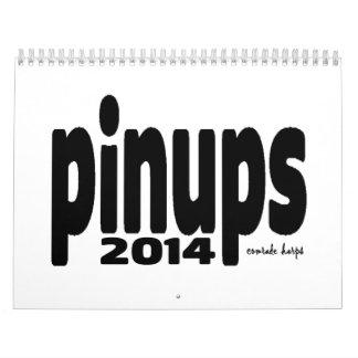 Pinups 2014年- calemdar季節のクリープ カレンダー