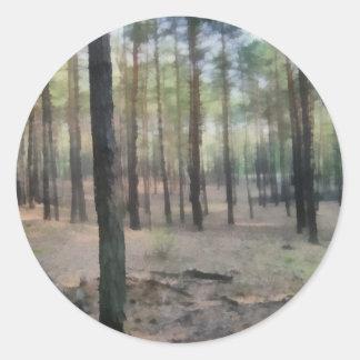 Piny森林 ラウンドシール