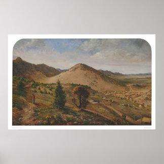 Pioche、リンカーン郡、ネバダ(1186年) ポスター