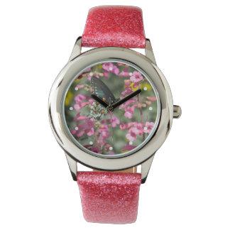 Pipevineのアゲハチョウの蝶 腕時計