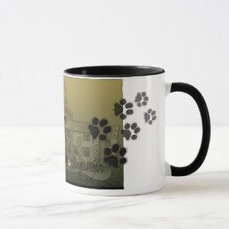 PippinおよびSerenのシェットランド・シープドッグのコーヒー・マグ マグカップ
