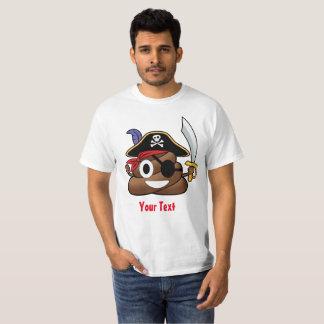 Pirate Poop Emoji Halloween Tシャツ