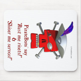 PirateBots - 3Dロボット海賊mousepad マウスパッド