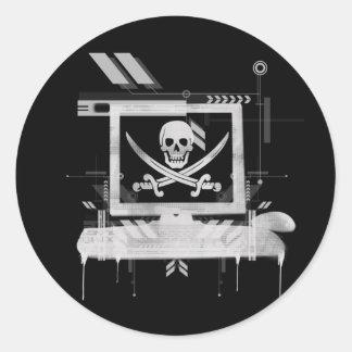 piratehack ラウンドシール