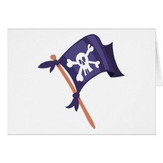 Piratenfahneの海賊旗 カード
