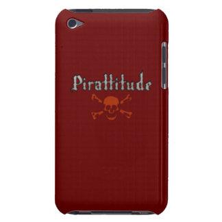 Pirattitudeの血の海賊旗 Case-Mate iPod Touch ケース