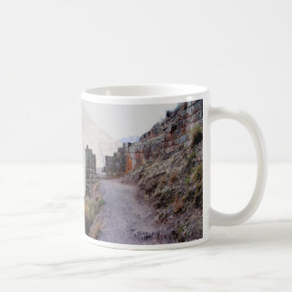Pisacの砦、ペルーへの出入口 コーヒーマグカップ