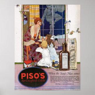 Pisoの咳Medicine (1921年) ポスター