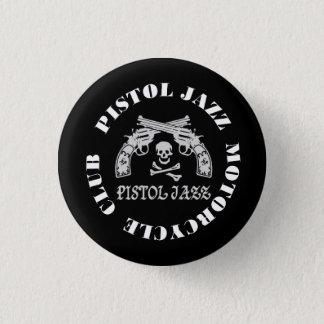PISTOL JAZZ PJMC缶バッヂ 3.2CM 丸型バッジ