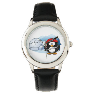 Pitateの南極ペンギン 腕時計